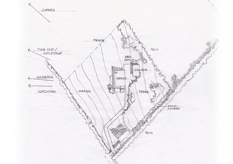 House site layout