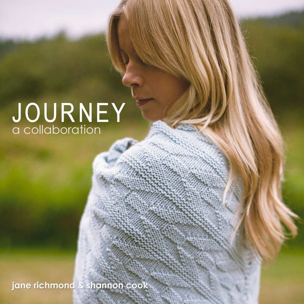 Journey by Shannon Cook and Jane Richmond #journeyknits