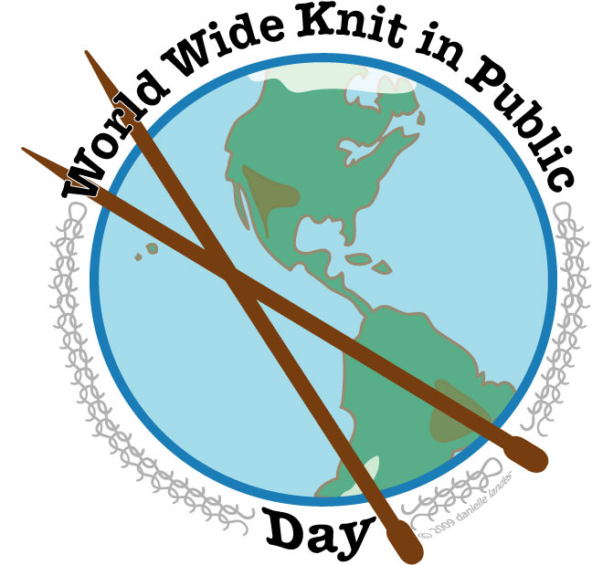 WORLD WIDE KNIT IN PUBLIC DAY