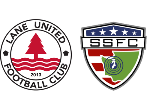 Lane United FC 3, South Sound FC 1 Friday, May 8, 2015 Goalscorers: Kloh Phillips (SSFC) 9', Josep Baldoví 65', Ismael Fernández 87', Timothy Mueller 90'+3' Venue: Willamalane Center, Springfield, OR Attendance: 446 Referee: Ian Miller