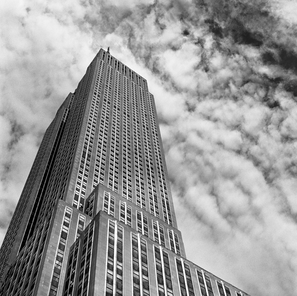 The Empire State Building, NYC, 6x6 Kodak Tri-X 400 Film