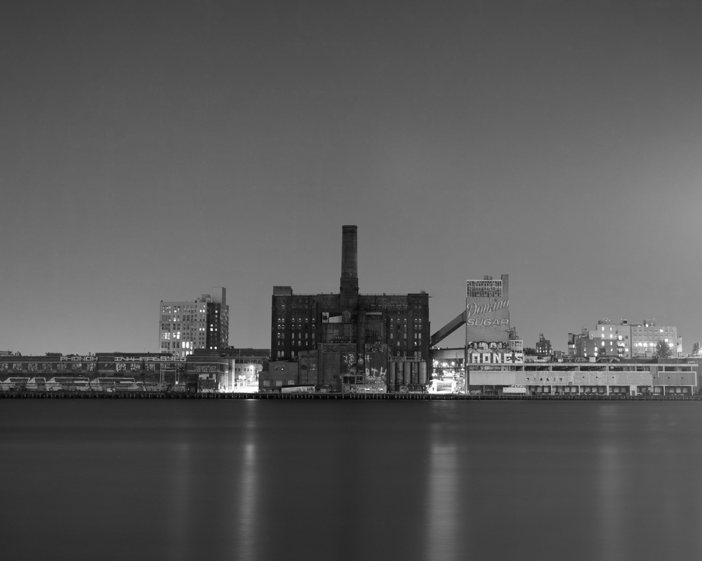 Domino Sugar Factory, NYC, 8x10 Fuji Acros Film