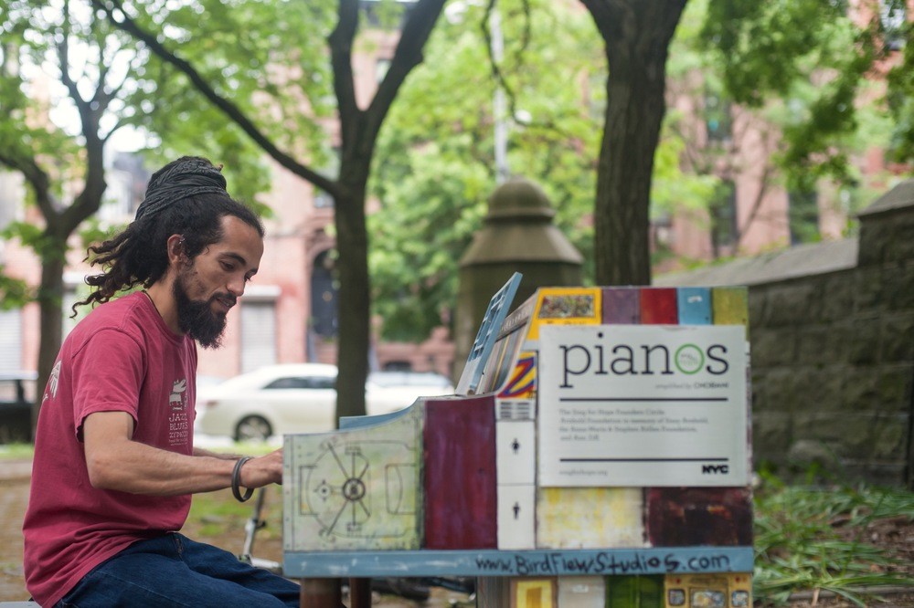 Rob's Sing for Hope Piano in Fort Greene Park