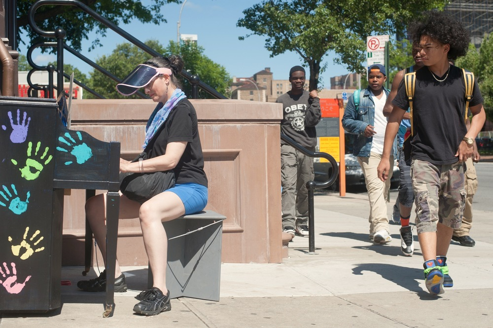 Sing for Hope Piano in Queens Getting Some Love and Attention