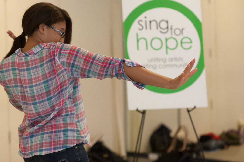 Sing for Hope Summer Arts Intensive for Area Teens