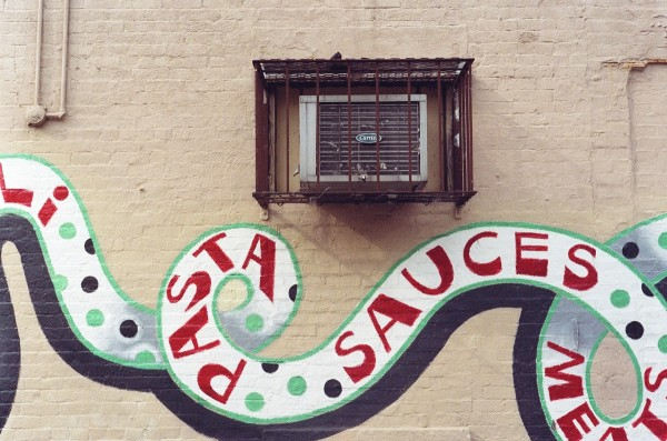 Air Conditioner and Pasta Sauces, East Village