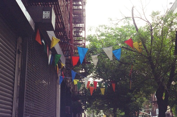 Flags, East Village