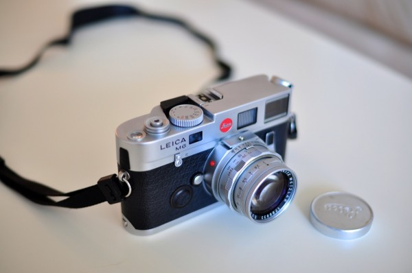 Leica M6 with Leica Summicron 50mm f2 Lens