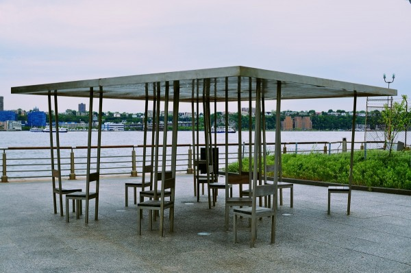 Tall Chairs on Hudson