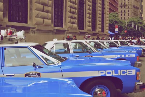 PoliceBlueVintage