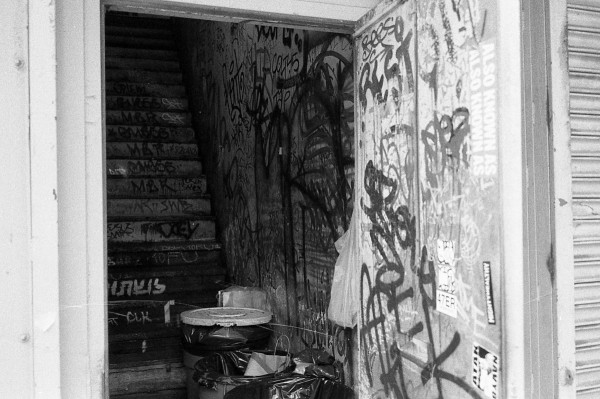 Stairs, Bowery