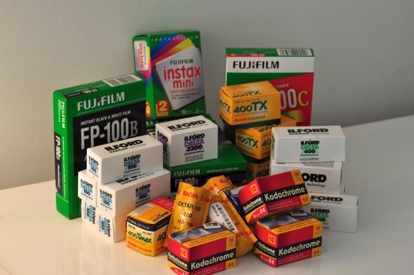 Pile of Film