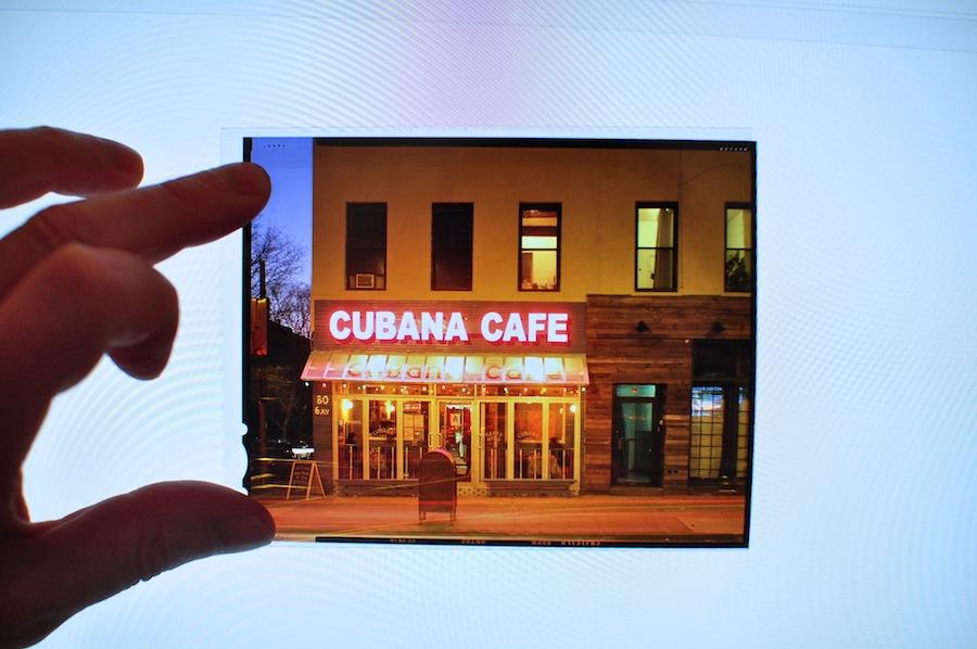 Fuji Provia 100 Slide Film on Lightbox