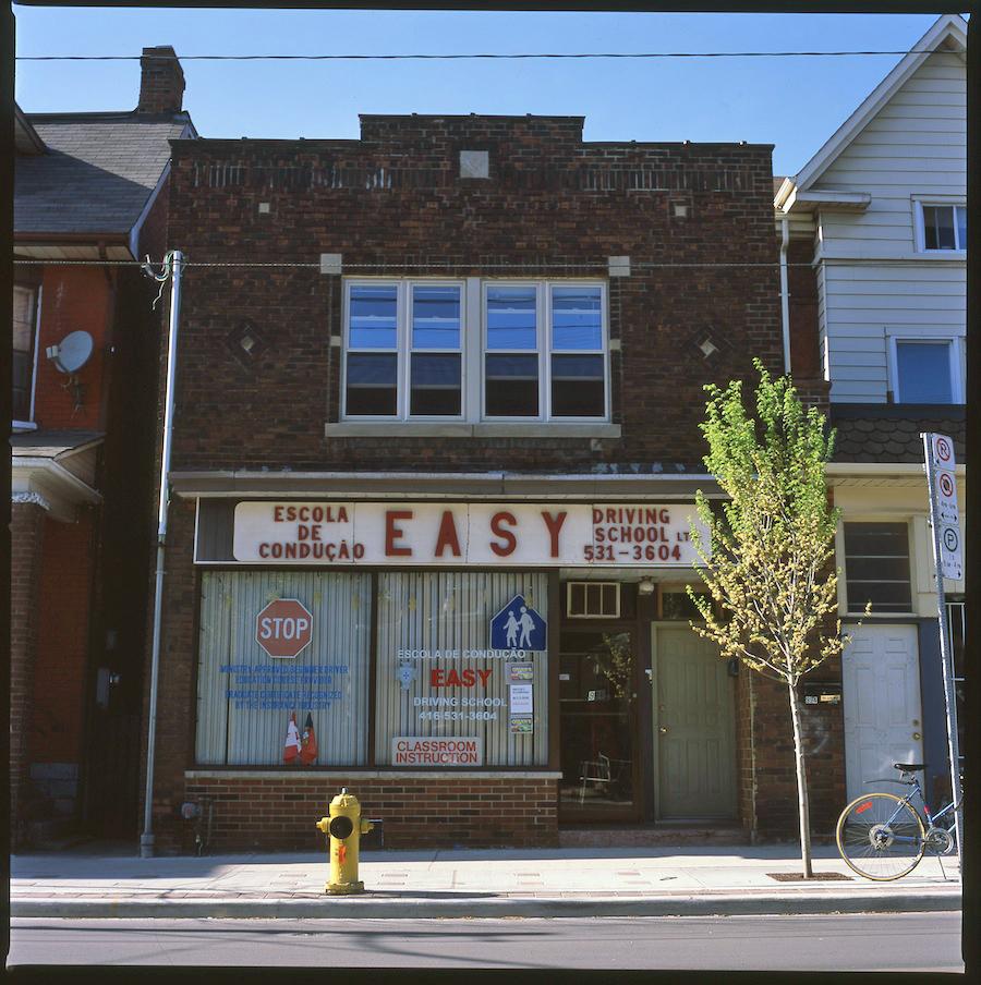 Easy Driving School, Toronto, Fuji Provia 100 Slide Film