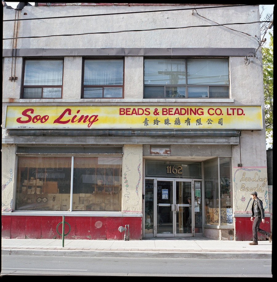 Soo Ling Beads, Toronto, Kodak Portra 400