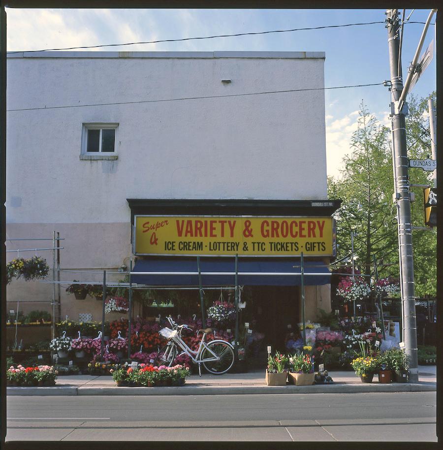 Super Variety Grocery, Toronto, Fuji Provia 100 Slide Film