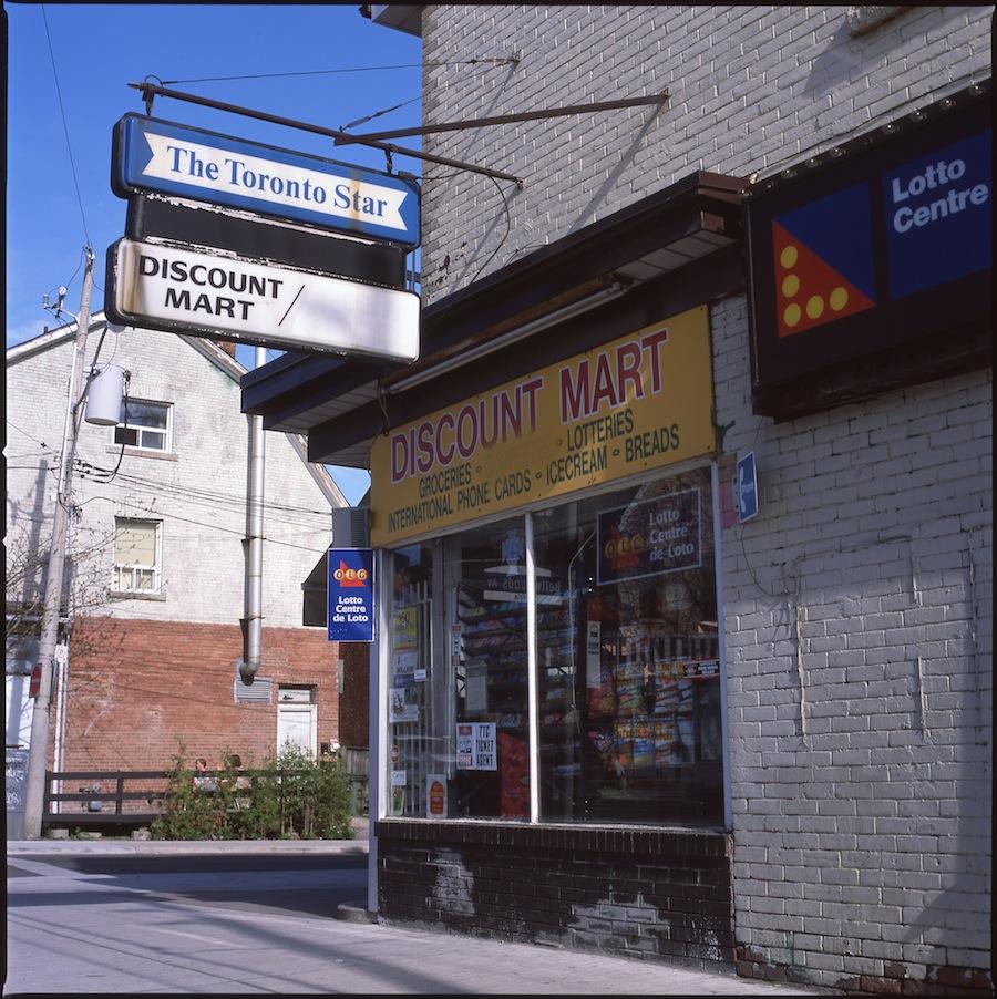 Toronto Star Discount Mart, Toronto, Fuji Provia 100 Slide Film