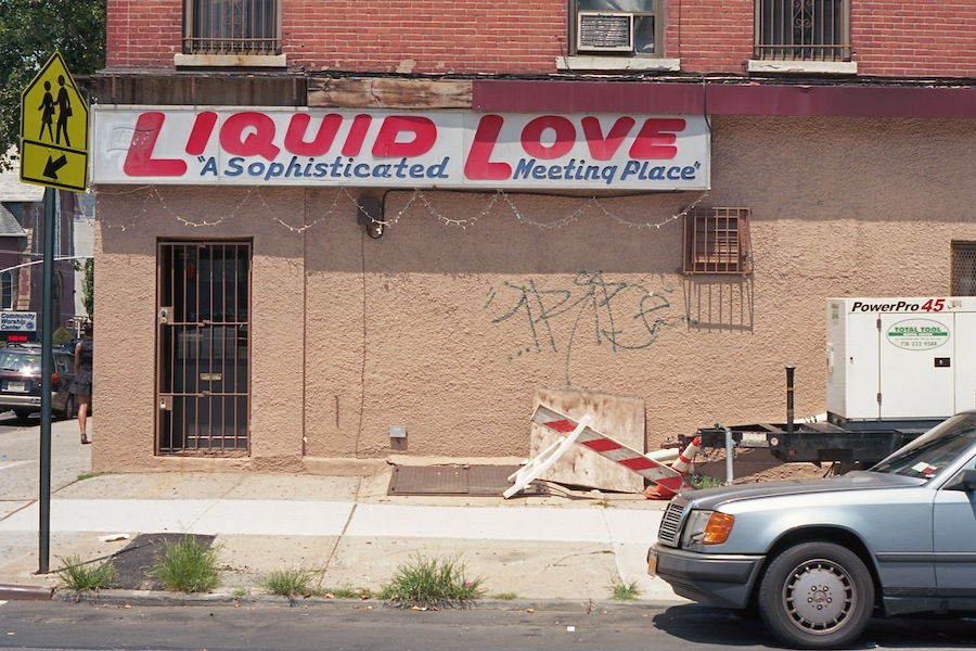 Larry's Liquid Love, Brooklyn, Kodak Ektar 100