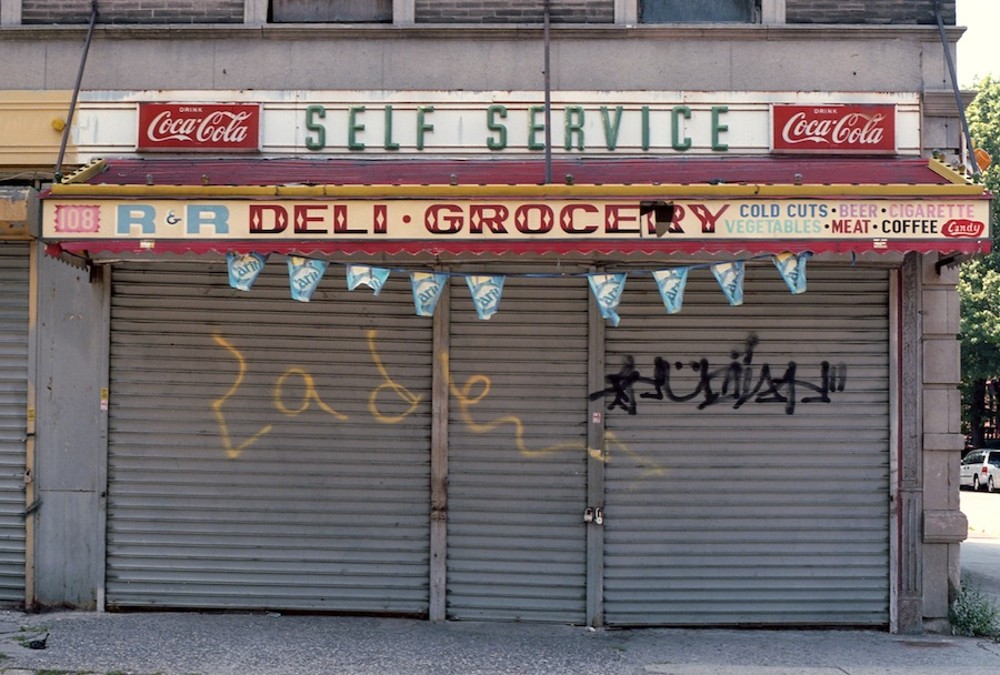 Self Service Deli Grocery Bodega, Brooklyn, Kodak Ektar 100