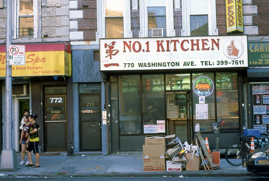 No. 1 Kitchen, Washington Avenue, Brooklyn, Fuji Provia 100