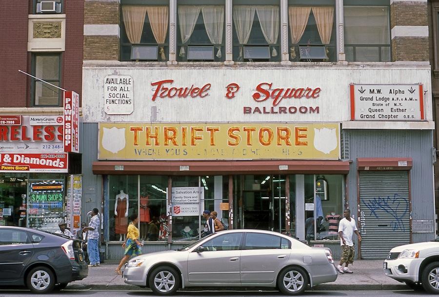 Trowel & Square Ballroom, Harlem, Fuji Provia 100