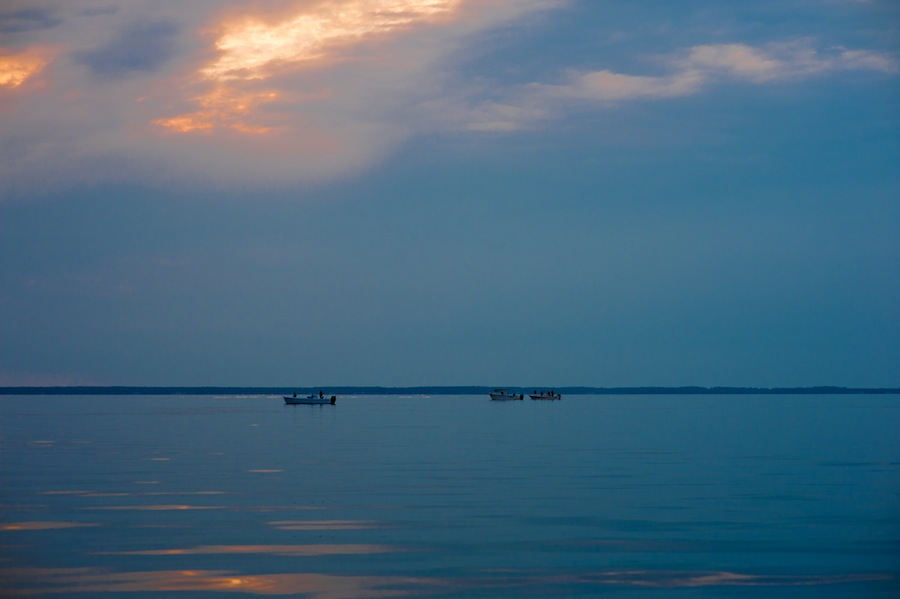 Fishing Boats on the Miles River, St. Michaels, MD