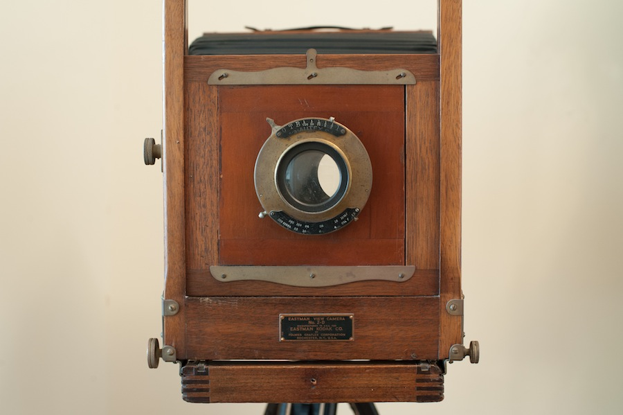 1935 8x10 Eastman View Camera No. 2 Front Close