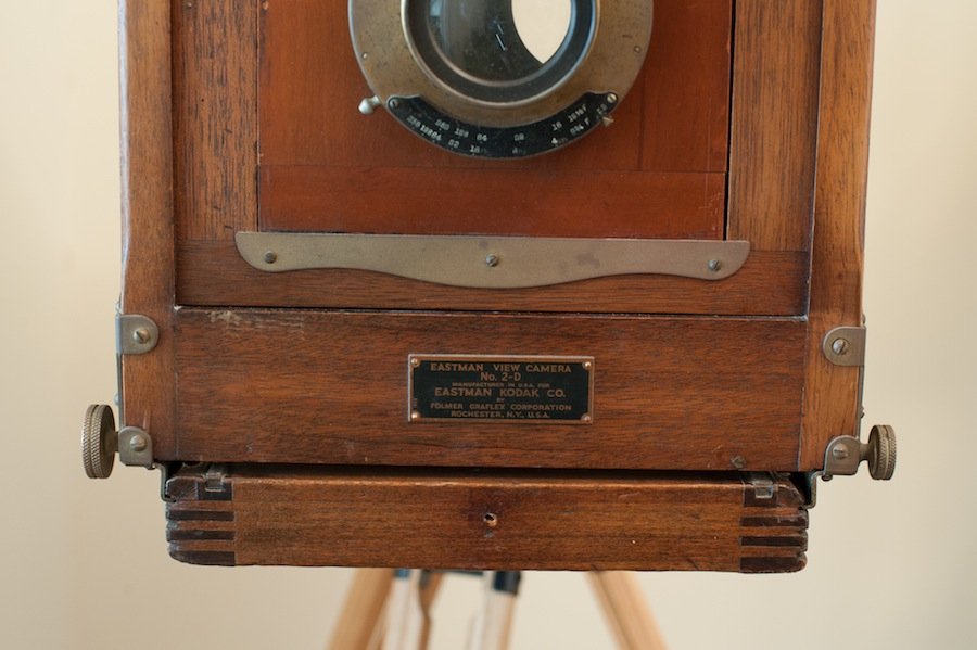 1935 8x10 Eastman View Camera No. 2 Name Plate