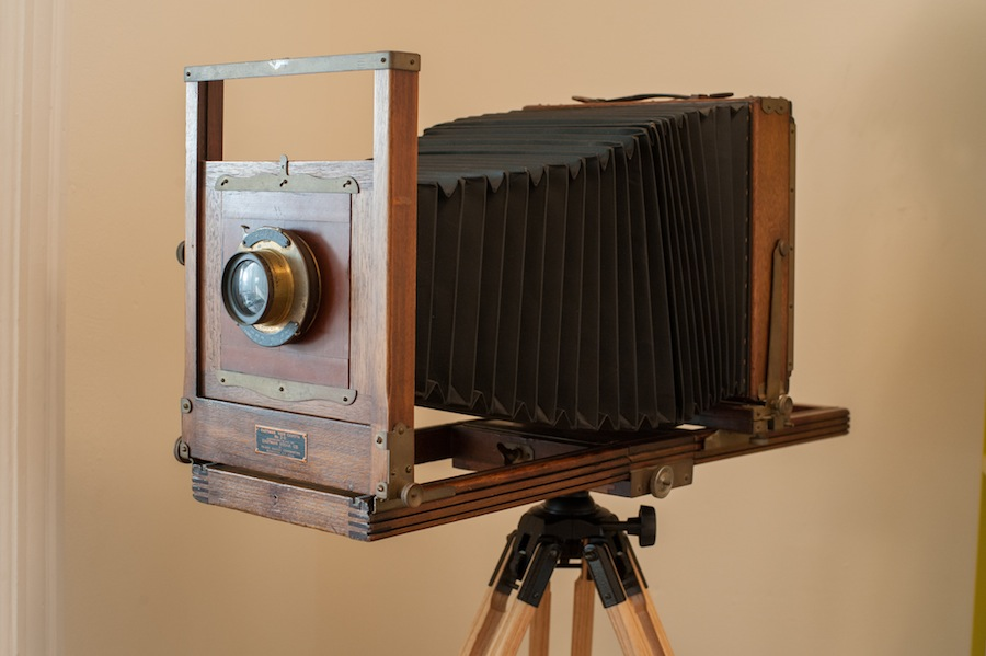 8x10 Eastman View Camera No. 2 Side View