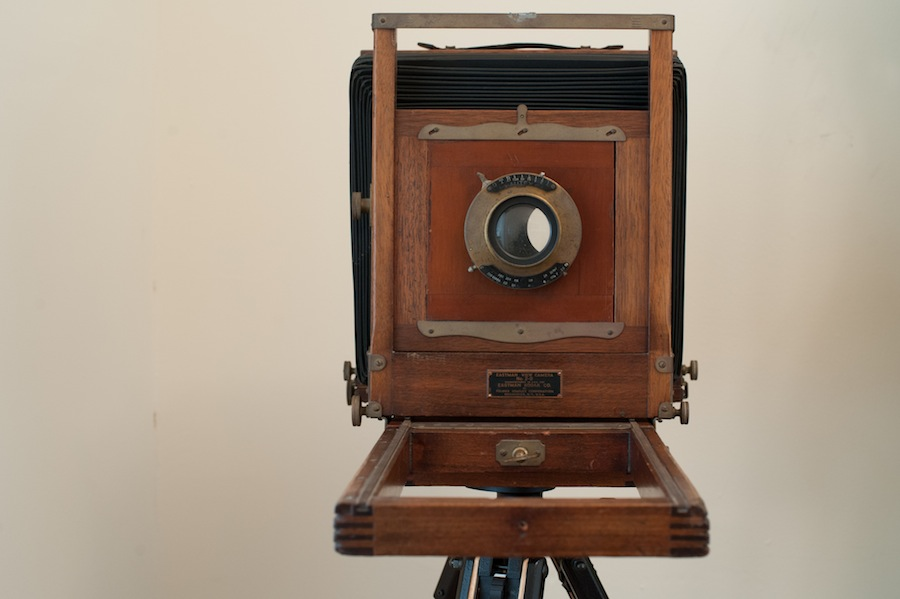 1935 8x10 Eastman View Camera No. 2 Front View