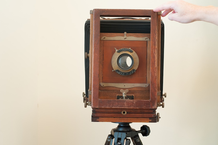 8x10 Eastman View Camera No. 2 with Front Extension Folded Up
