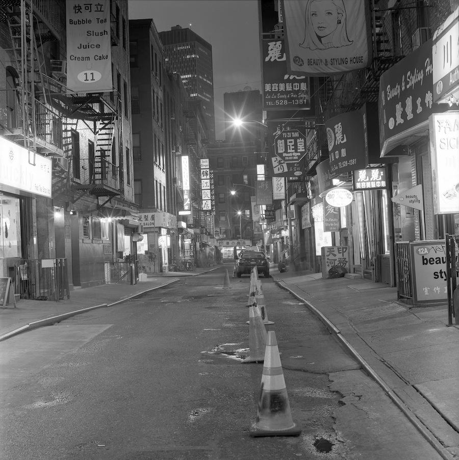 Pell Street, Chinatown, NYC, Fuji Neopan Acros 100