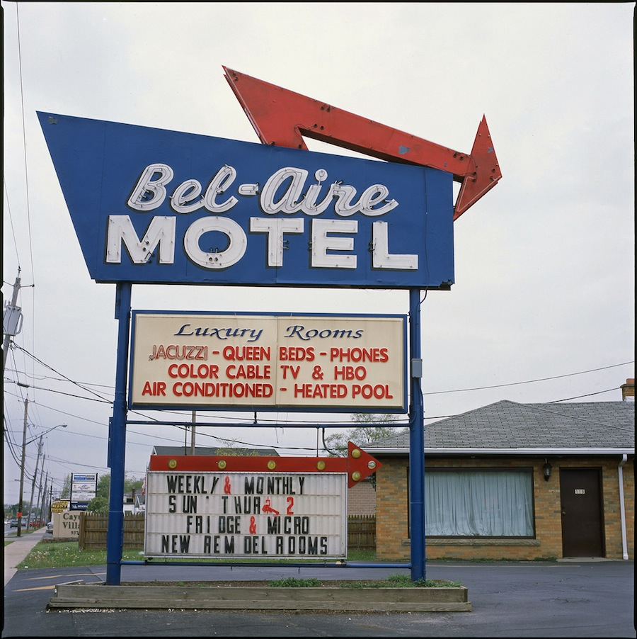 Bel-Aire Motel, Niagara Falls, Hasselblad 501cm and Fuji Provia 100
