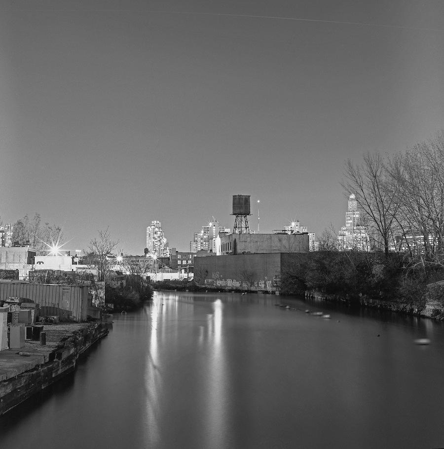 Gowanus Canal, Brooklyn, Hasselblad 501cm and Fuji Neopan Acros 100