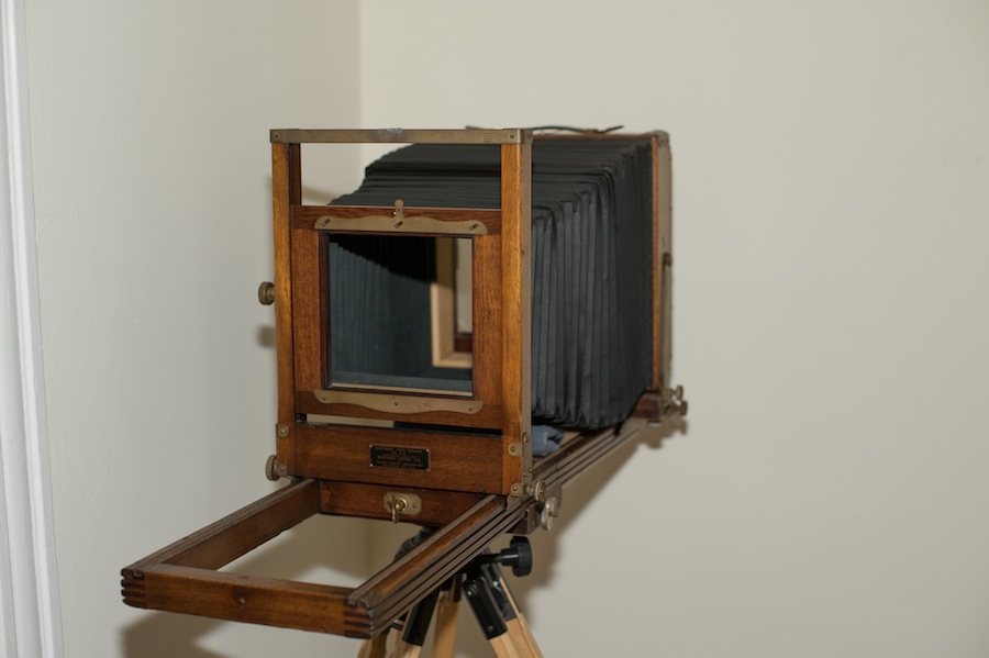 Eastman View Camera No. 2D after a Tune Up