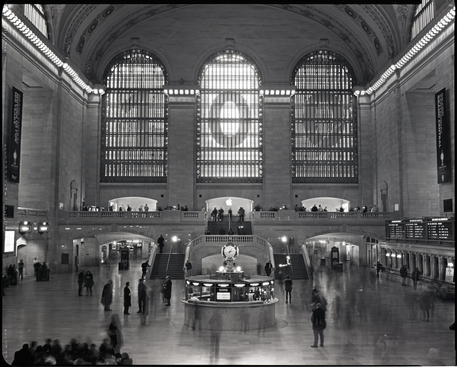 Grand Central, Station, NYC, 8x10 Fuji HRT Xray Film
