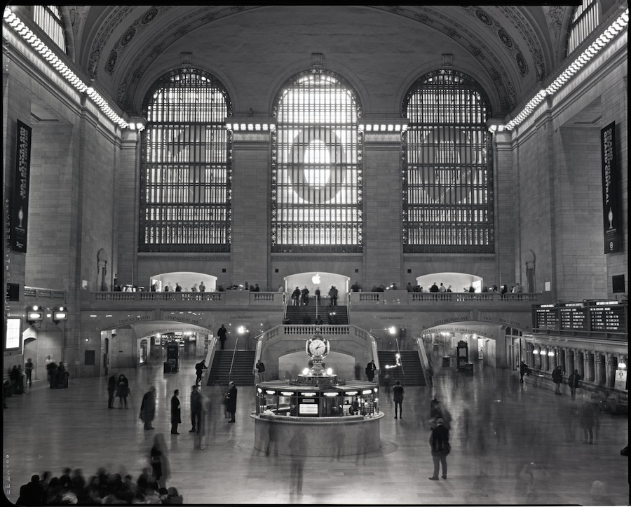 Grand Central Station, NYC, 8x10 Camera with Fuji HR-T X-Ray Film