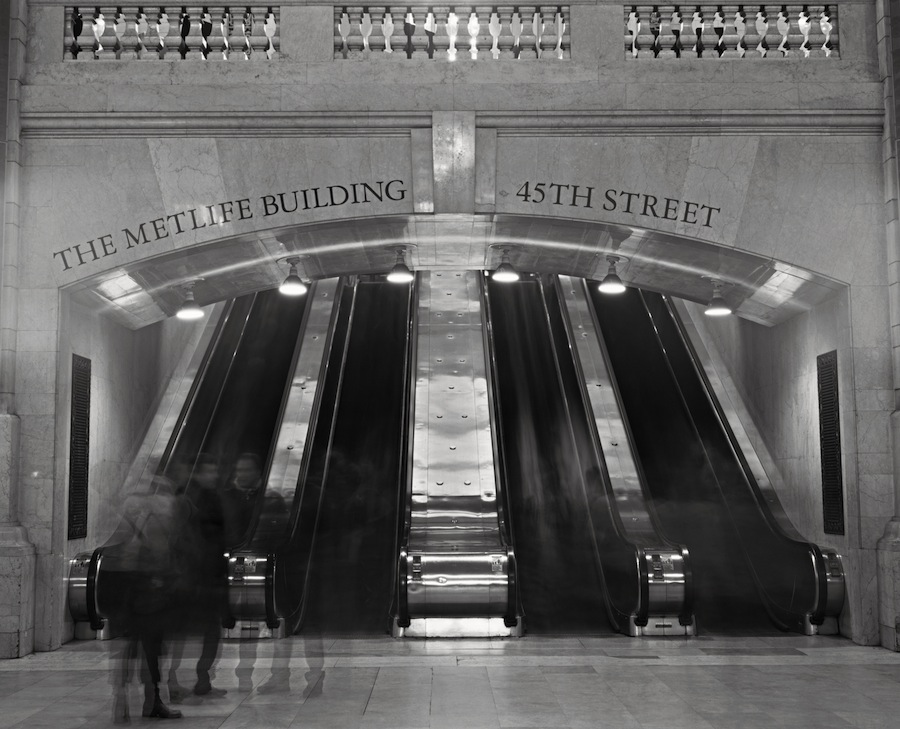 Grand Central Terminal, Met Life Stairs, Fuji HR-T X-Ray Film