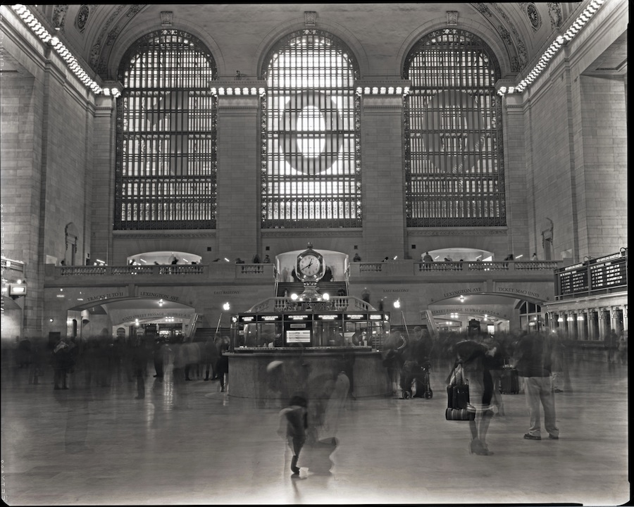 Grand Central Terminal, NYC, Fuji HR-T X-Ray Film