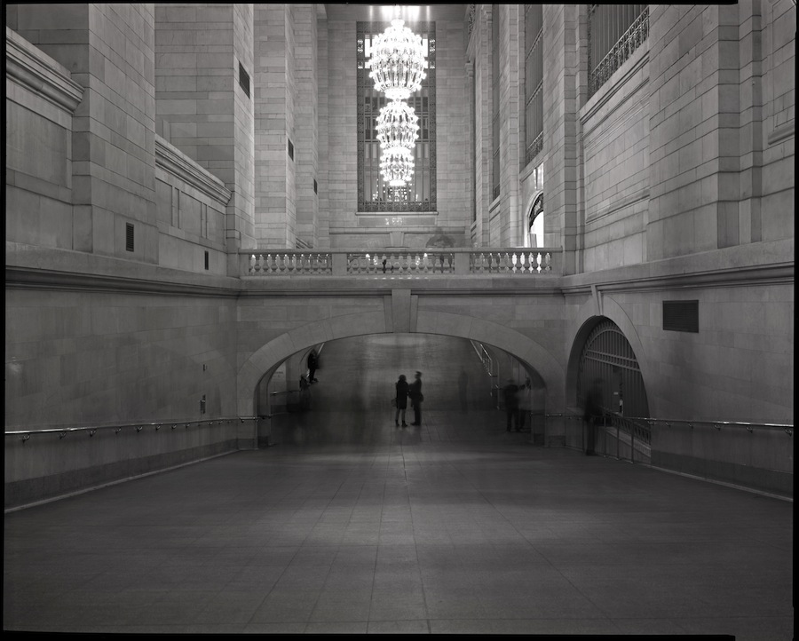 Grand Central Terminal, Tunnel Passage, Kodak Tri-X 320