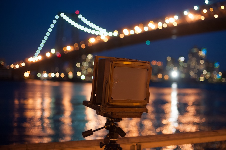 8x10 Camera Shoot on NYC East River