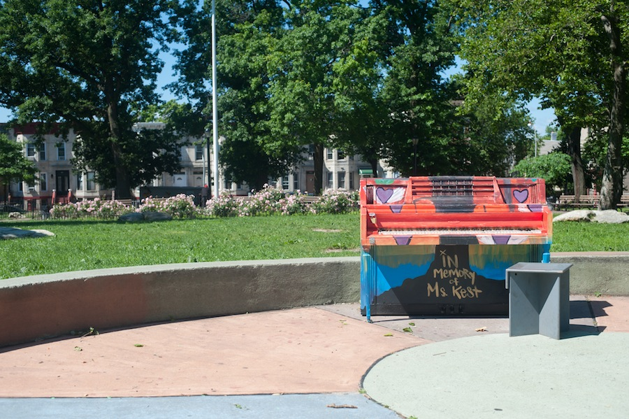 Bushwick School for Social Justice Piano at Irving Square Park, Brooklyn