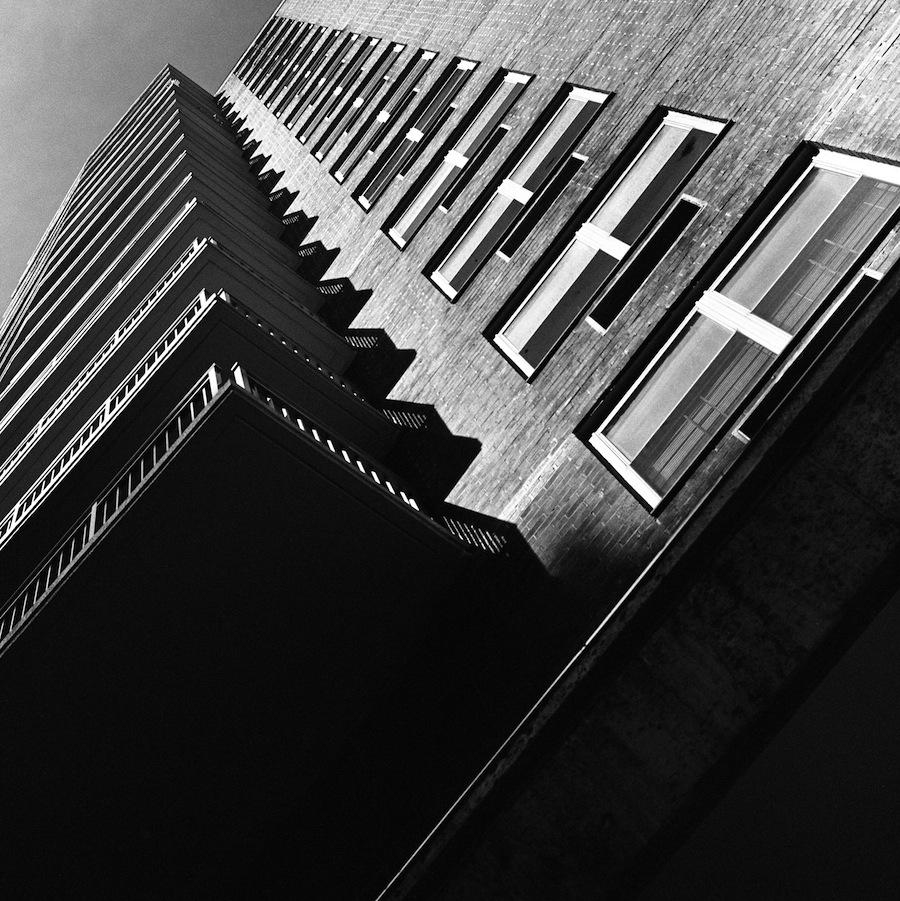 Park Avenue Apartments, NYC, Kodak Tri-X 400 Film