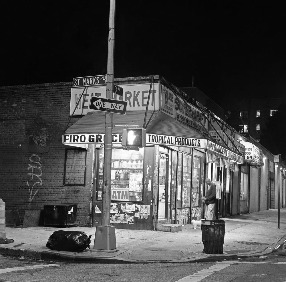 Brooklyn Bodega, NYC, 6x6 Fuji Acros Film