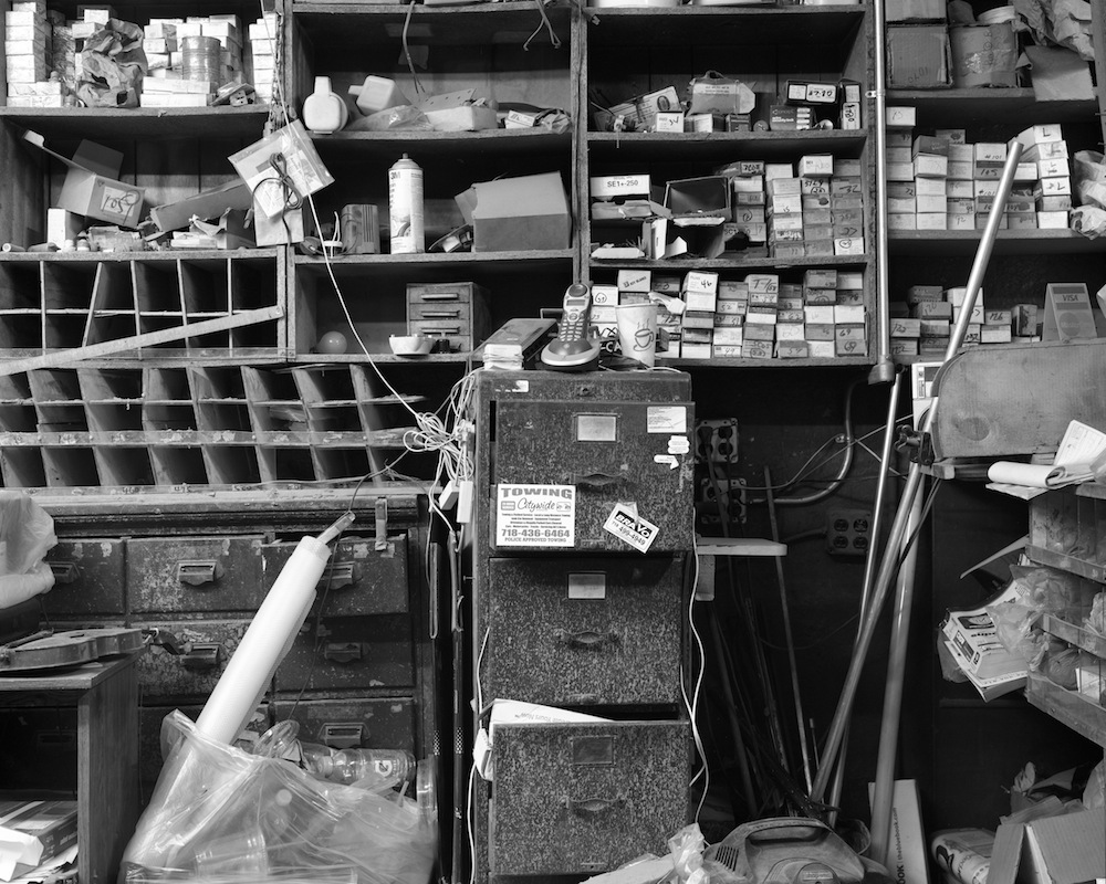 Mega Glass Shop, Park Slope, Brooklyn, 8x10 Ilford HP5+ Film