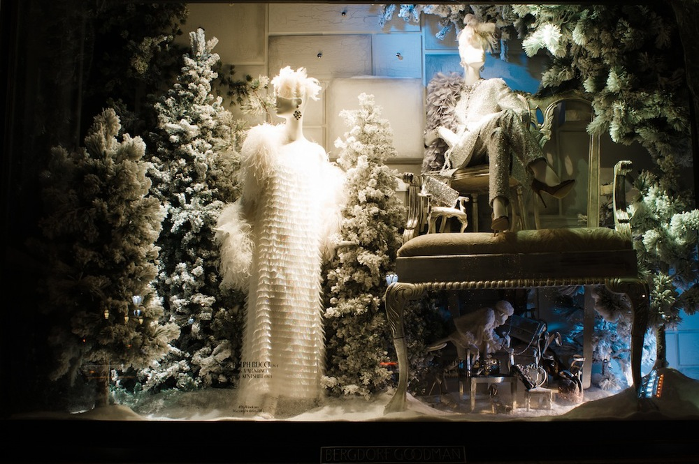 2013 Bergdorf Goodman Holiday Windows, NYC Holiday Decorations