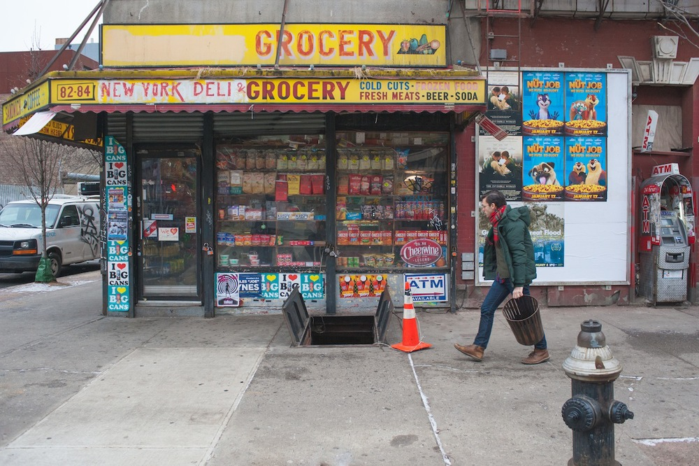 Metropolitan Avenue's New York Deli and Grocery in Williamsburg, Brooklyn