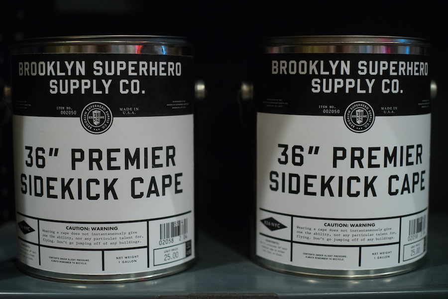 Sidekick Capes at the Brooklyn Superhero Supply Store, Sony a7 and Olympus Zuiko 50mm f1.8 Lens