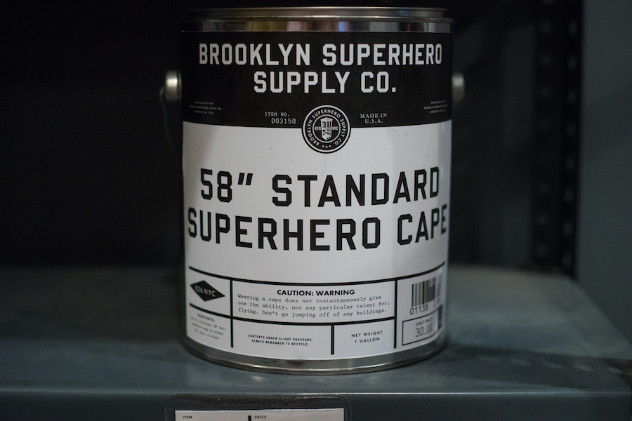 Standard Superhero Capes at the Brooklyn Superhero Supply Store, Sony a7 and Olympus Zuiko 50mm f1.8 Lens
