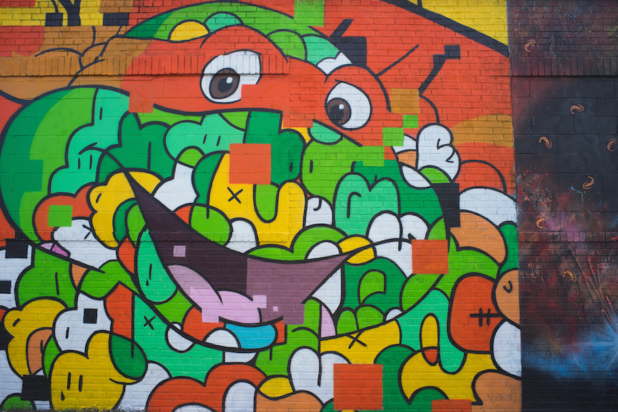 Jerkface's TMNT in Bushwick, Sony a7 and Olympus Zuiko 28mm f3.5